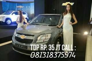Tdp Rp. 35 juta, Bawa Pulang Chevrolet New Orlando 1.8L AT Triptonik 2017