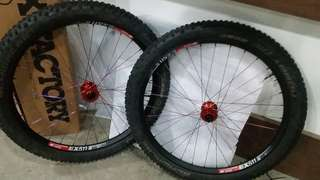 Wheelset 27.5/650b Boost Hope pro 4 ex511 dt swiss enduro