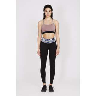 Drop of Mindfulness - Bow II Fitness Leggings (Mirror)