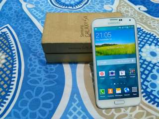 Samsung galaxy s5 lengkap segel terawat