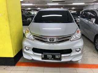 Toyota Avanza G Lux MT Silver 2015