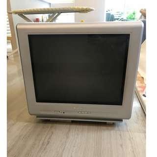 cathode-ray TV