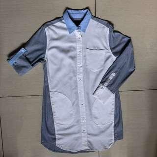 Plains and Prints Bhyll shirt dress