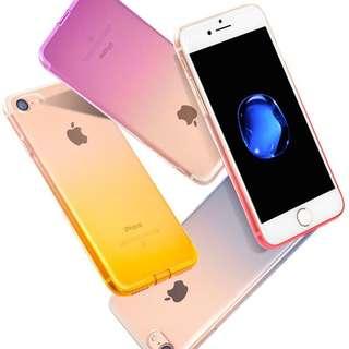 Gradient Ombre Case for iPhone 5, 5s, 5se 6, 6+, 6s, 6s+, 7, 7+, 8, 8+, X