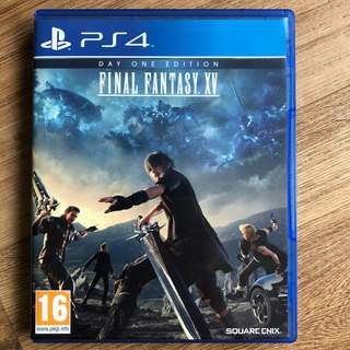 PS4: Final Fantasy XV R2 - Day 1 Edition with DLC