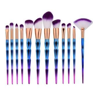 🦋Handle Foundation Eyeshadow Blusher Powder Brushes Kit🦋