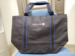 United Airlines shopping bag