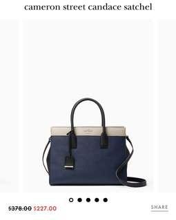 Kate Spade cameron street candace satchel