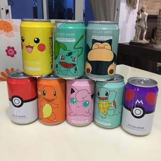 POKeMON drinks -8pcs