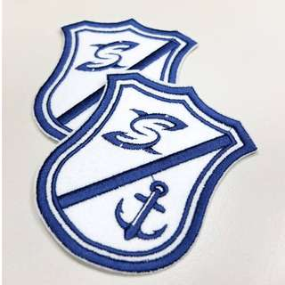 SHARKS 限量刺繡徽章 (薄襯紙版)