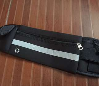 Jogging belt bag