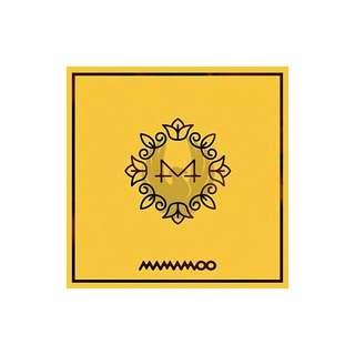 Onhand MAMAMOO YELLOW FLOWER