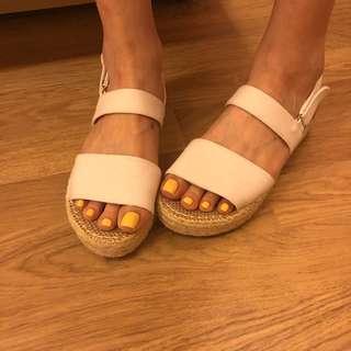 D+AF 厚底涼鞋 增高涼鞋