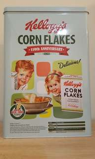 Kellogg's Vintage Tin Cereal Box