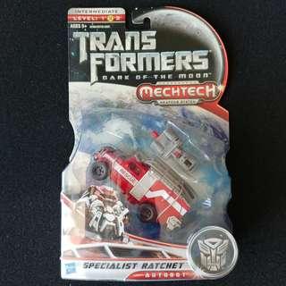 變形金剛 Transformers Movie 3 Specialist Ratchet