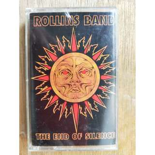 Rollins Band - End of Silence (Cassette)