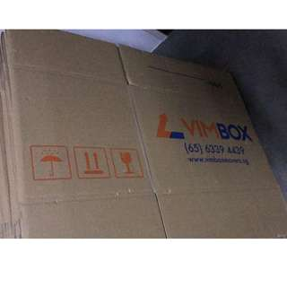 USED AND OLD house moving boxes 2 ply