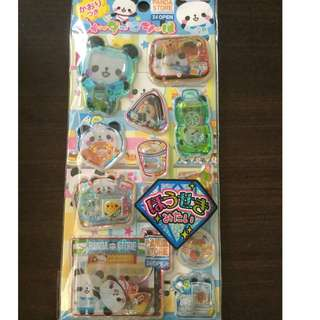 Water Beads Capsule Stickers (Kamio Japan)