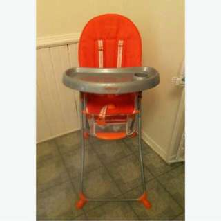 Baby High Chair -Safe Feeding