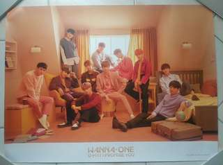 Wanna One I.P.U Day Poster