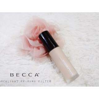 ✨ INSTOCK SALE: BECCA Backlight Priming Filter in Radiant Finish