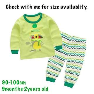 Baby Pyjamas Set Long Sleeve