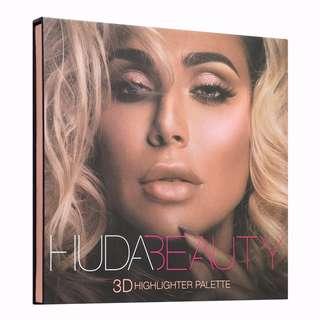 ✨INSTOCK SALE: HUDA BEAUTY 3D HIGHLIGHT PALETTE