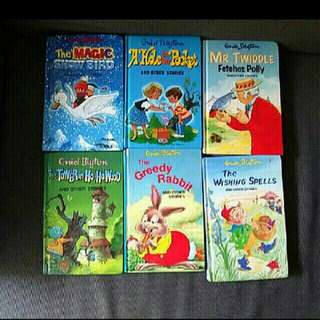 10 Enid Blyton english  books for children