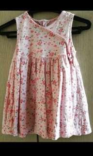 Pink Dress for Little Girls