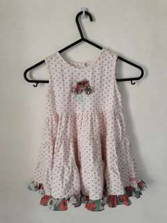 Kids Polka-Dot Ruffled dress