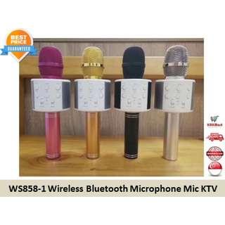 WS858-1 Wireless Bluetooth Microphone Mic KTV