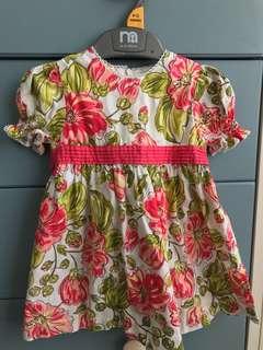 Poney dress 6-12 months