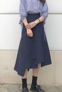JW anderson x Uniqlo 拼布 不規則 半身裙 skirt