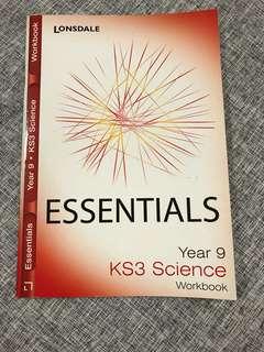 Lonsdale Essentials Year 9 KS3 Science Workbook