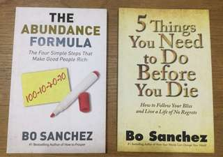 Books by Bo Sanchez