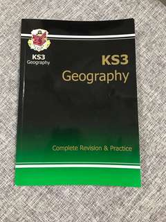 KS3 Geography Complete Revision and practice CGP