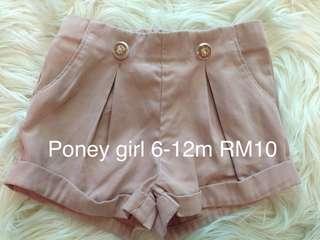 Poney girl short pant