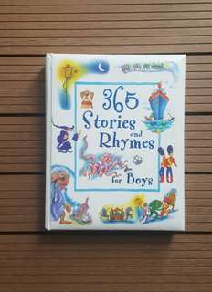📖 Children book- 365 stories and rhymes for boys📔