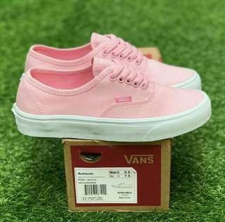 VANS AUTHENTIC PINK WHITE