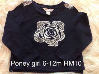 Poney Girl Top
