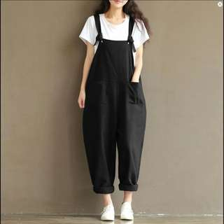 Zanzea Black Jumpsuit (import)