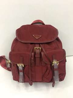 Prada Backpack Authentic Grade Quality mirror copy