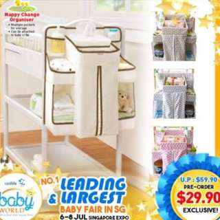 Brand New Diapers organizer