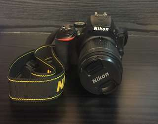 Nikon D5600 with 18-55mm kit lens