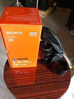 Sony SEL1670 16-70 F/4 , e mount
