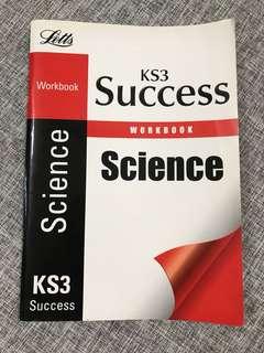 Cambridge Year 9 KS3 Success Science Workbook