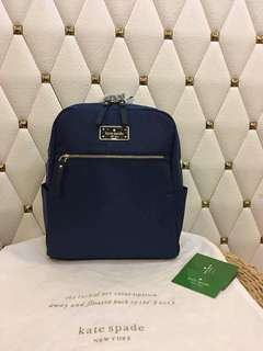 Kate Spade Backpack Authentic Quality