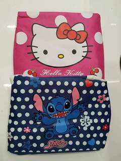 Stitch and Hello Kitty Lunch Bag