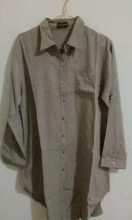 Long Brown Shirt