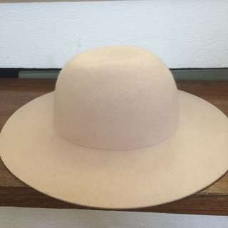 H&M Light Pink Wool Hat